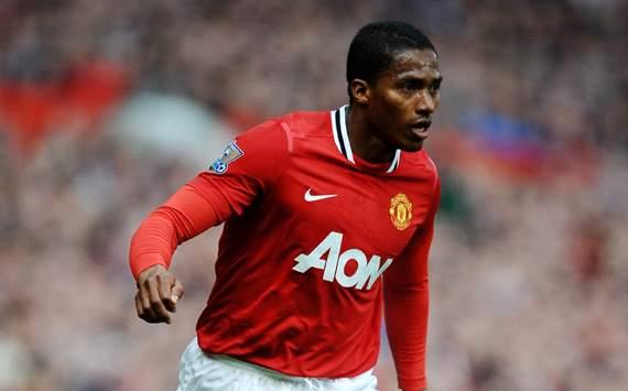 EPL: Antonio Valencia, Manchester United v Swansea City
