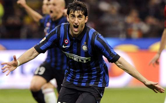 Milito: I hope Forlan stays at Inter