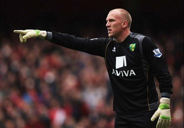 Norwich keeper Ruddy hopeful of England call