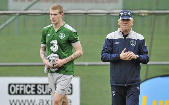 Trapattoni's forward thinking - Ireland coach keeps one eye on World Cup campaign after Euro 2012 squad announcement