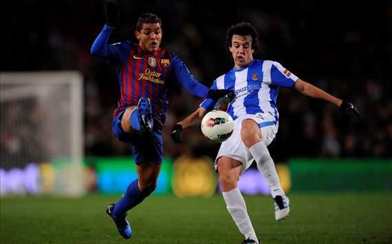 Jonathan dos Santos vs. Pardo - Barcelona vs. Real Sociedad