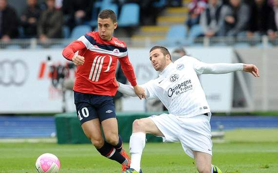 Ligue 1 : Eden Hazard vs Thomas Heurtaux (Lille OSC vs SM Caen)