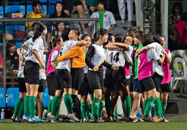 Koo Hui Fen hands Rafflesians their first-ever girls 'A' Division title while defending champions Victoria Junior College settle for third after a penalty shootout