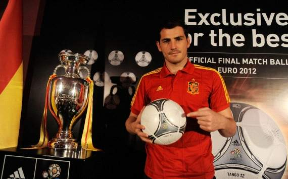 Iker Casillas (Spain) Euro 2012 ball