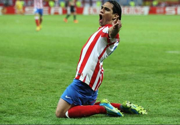 Suarez confident Falcao will reject Manchester City to stay with Atletico Madrid