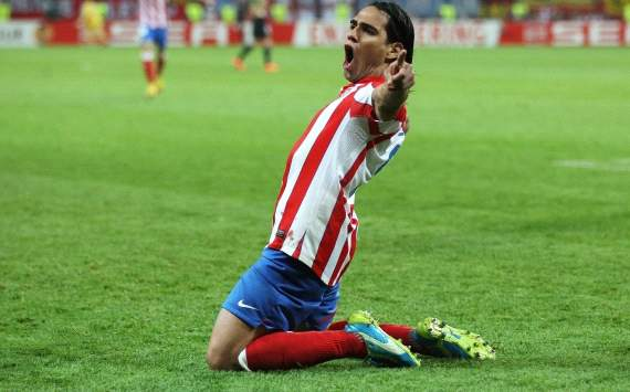 Mr. Europa League: Fantastic Falcao fires Atletico Madrid to glory as the rest watch on in wonder
