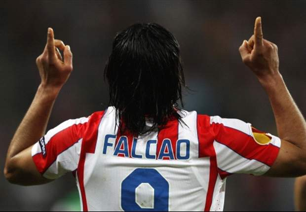 Falcao happy at Atletico Madrid despite Chelsea interest