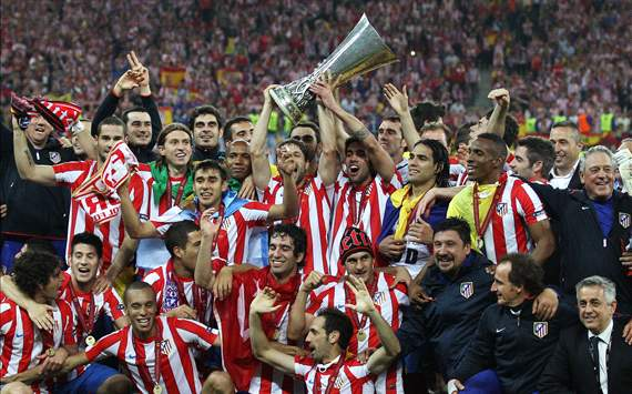 Emotional Juanfran dedicates Atletico Madrid's Europa League triumph to late father