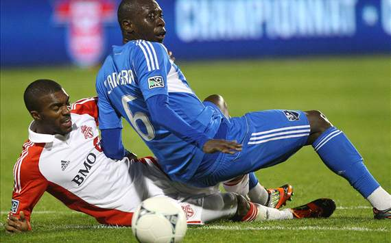 Ashtone Morgan; Hassoun Camara - Toronto FC vs. Montreal Impact