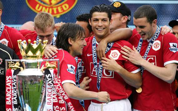 When Ronaldo beat City to win title at United