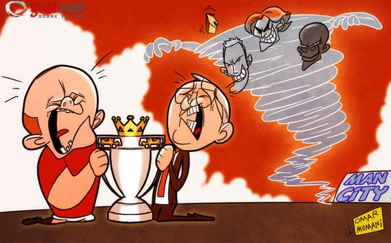 Premier League Cartoons Calm Before The Premier League