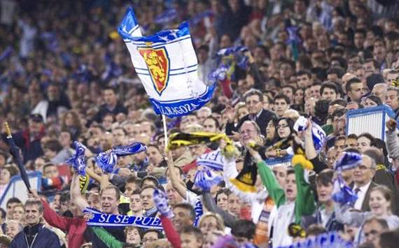 Real Zaragoza fans