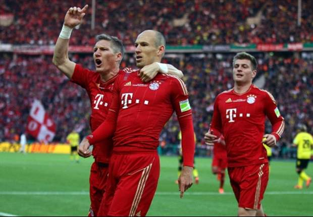 Robben bullish on suggestions he will lose Bayern Munich starting role