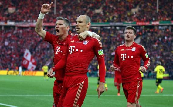 Robben bullish on suggestions he will lose Bayern Munich starting role: Of course not, it will not be happening