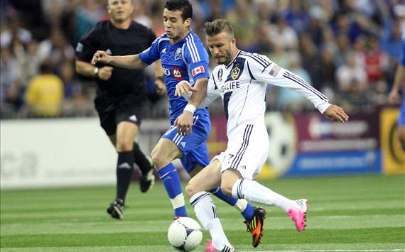 David Beckham, Felipe Martins, Los Angeles Galaxy, Montreal Impact, MLS
