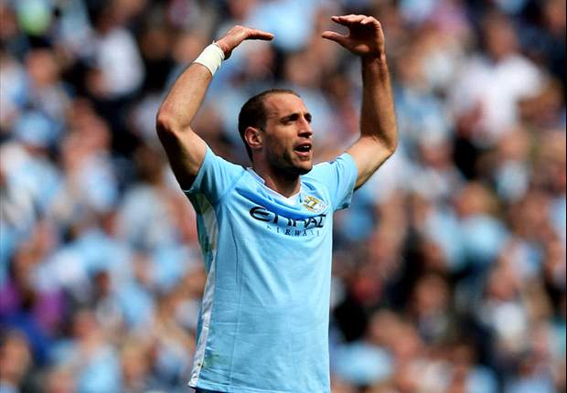 Tevez and Aguero happy at Manchester City, says Zabaleta