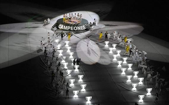 Celebración Liga Real Madrid Santiago Bernabéu