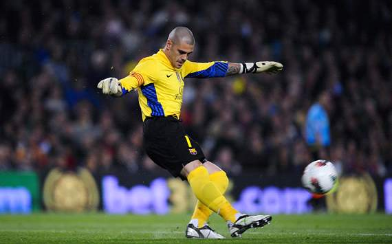 I do not consider myself Barcelona's first-choice goalkeeper, claims Valdes