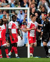 EPL: Joey Barton - Mike Dean, Manchester City v QPR