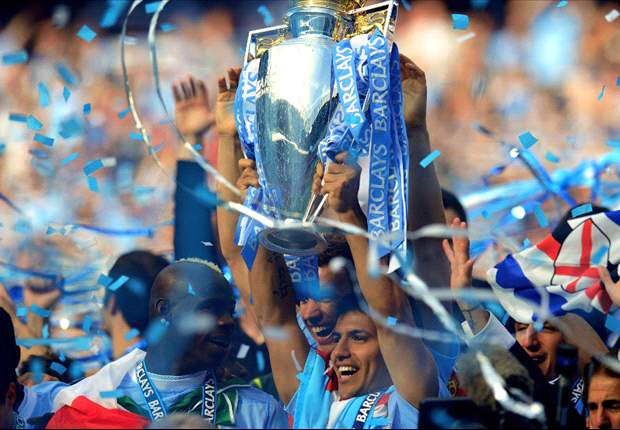 In Pictures: Manchester City celebrate Premier League title success