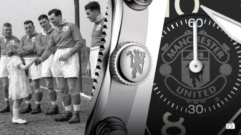El Manchester United presenta su reloj oficial… ¡marcando las 12!