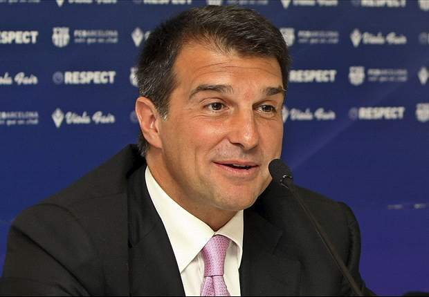 Barcelona president Rosell has links to violent fan groups, claims Laporta