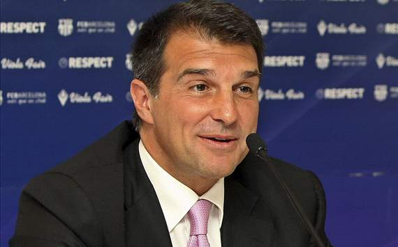 Laporta: Paris Saint-Germain must adopt Barcelona's philosophy