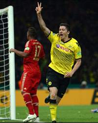 Borussia Dortmund v Bayern Mnchen, Robert Lewandowski