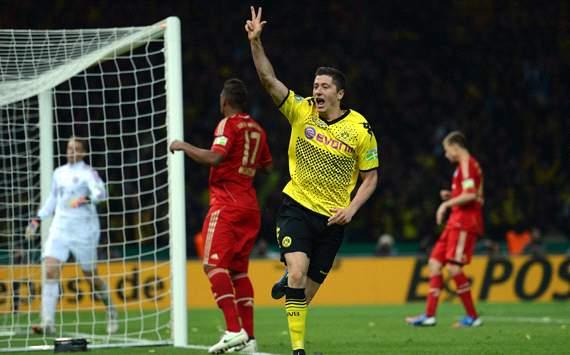 Borussia Dortmund v Bayern München, Robert Lewandowski