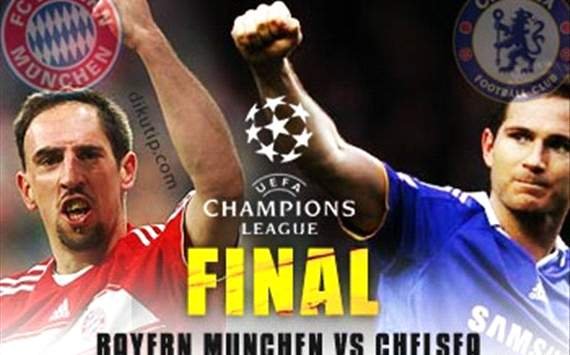 Bayern vs Chelsea final