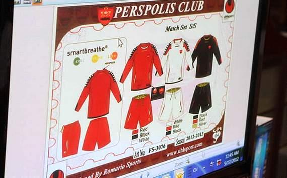 لباس پرسپوليس