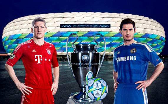 adidas - UCL 2012 Final - Lampard and Schweinsteiger