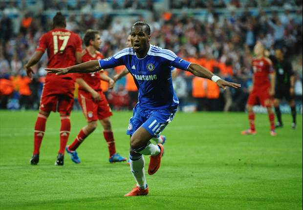 Drogba hails Di Matteo as Chelsea's most memorable manager after Champions League win