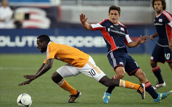 Je-Vaughn Watson, Ryan Guy; New England Revolution- Houston Dynamo