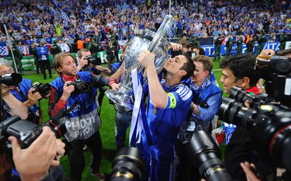 Lampard: Chelsea's Champions League win is the crowning moment of my career
