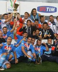 Napoli celebrate Italy Cup
