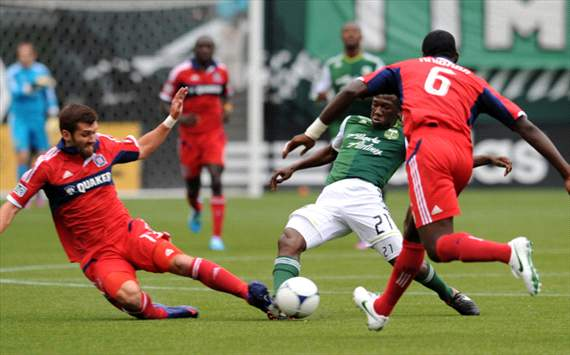 Diego Chara, Gonzalo Segares, Portland Timbers, Chicago Fire, MLS