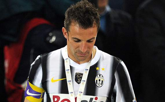 Del Piero sends open letter to Juventus fans: I will always be one of you
