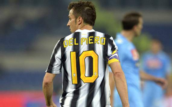 Del Piero unsurprised by Juventus exit