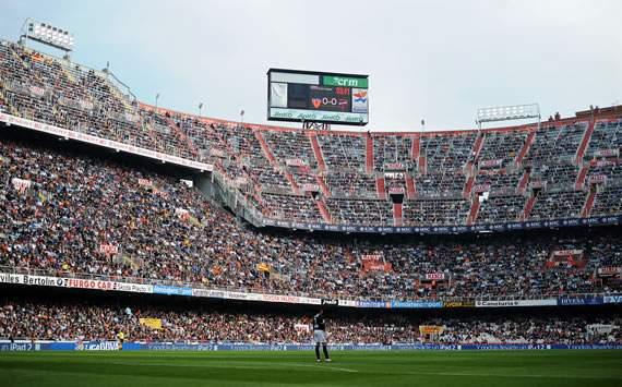 Mestalla, estadio del Valencia