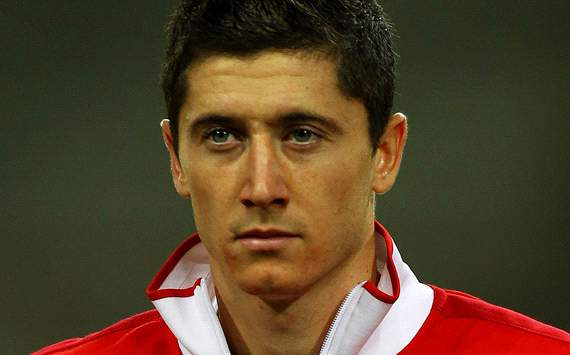 TEAM NEWS: Man Utd target Lewandowski starts in attack for Poland in Euro 2012 opener