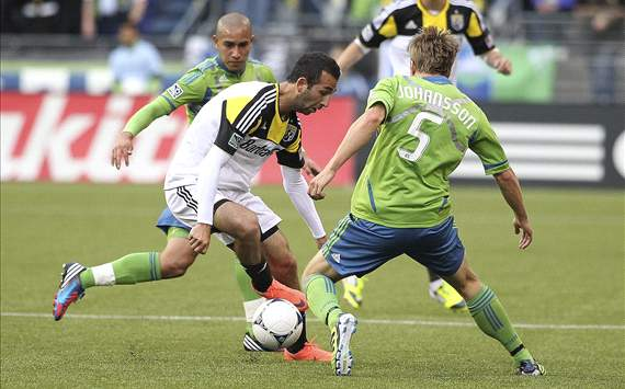 Justin Meram, Columbus Crew; Adam Johansson, Seattle Sounders FC; MLS