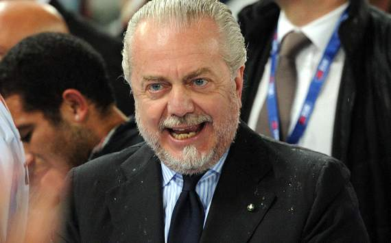 Napoli do not need a striker, says De Laurentiis