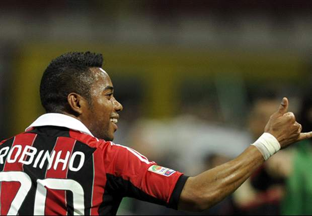 Santos send representatives to AC Milan to negotiate Robinho move