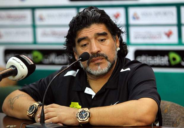 Maradona: If 300 Greeks can hold off 10,000 Persians, then Greece certainly have a chance against Germany