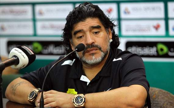 Maradona: He may not have everything, but don't criticise Messi