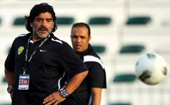Maradona warns Spain: Never count Italy out