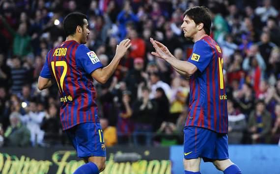 Pedro, Lionel Messi, Barcelona