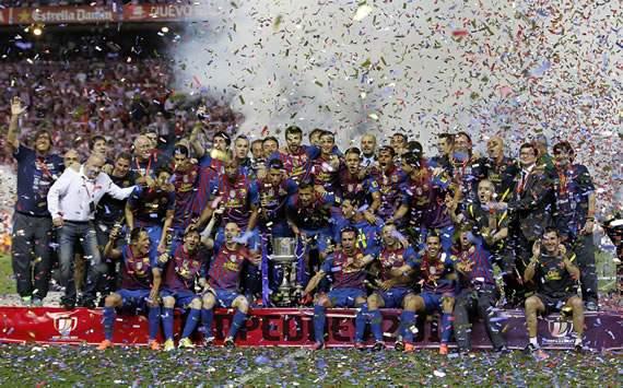 Barcelona, campeon de la Copa del Rey