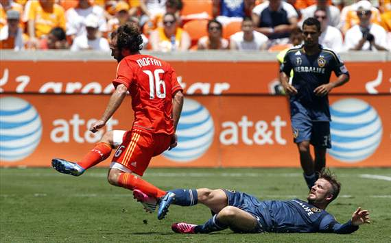 Adam Moffat, David Beckham, Houston Dynamo, LA Galaxy, MLS
